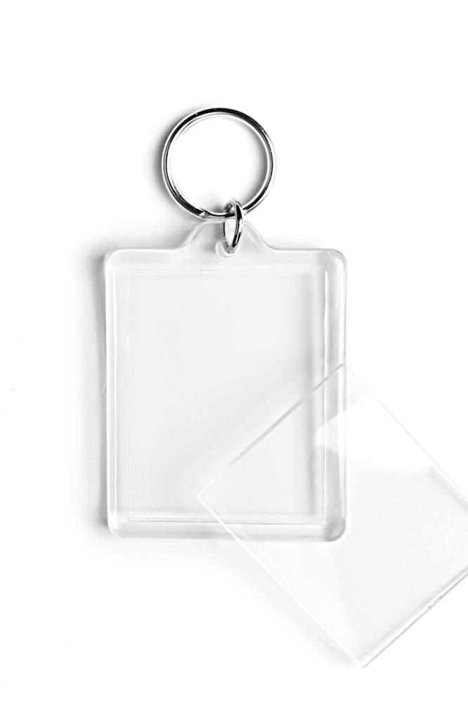 01. Breloc acrylic (45x35) - cu inel