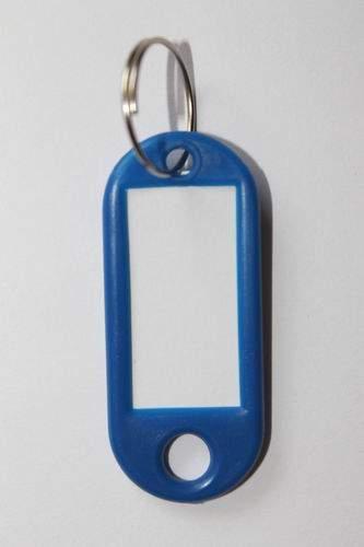 29. Breloc cu etichetă -  albastru închis