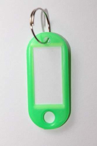 31. Breloc cu etichetă -  verde