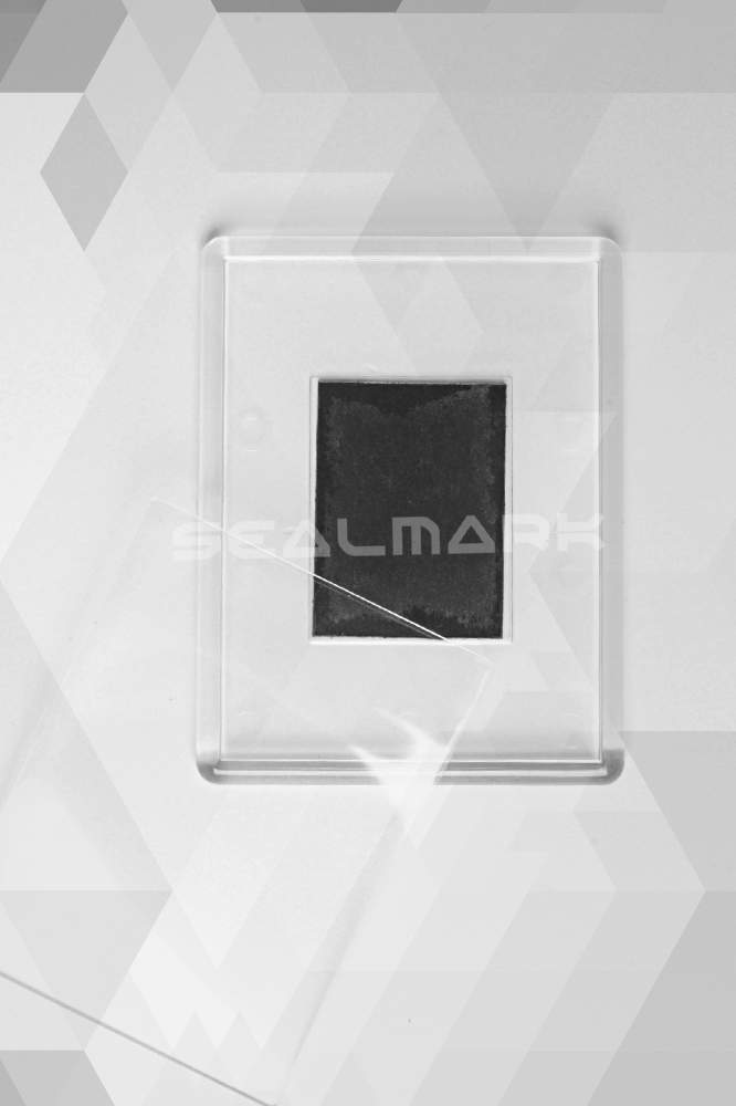13. Magnet de frigider acrilic transparent - (8,4 x 6,5 cm)