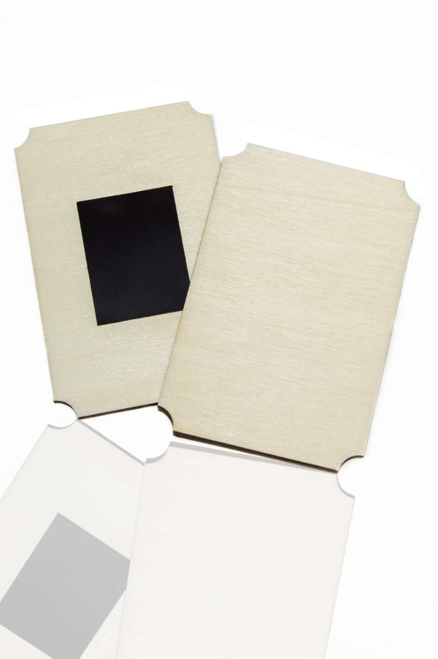 106. Placă din lemn pentru magnet frigider 90x50mm
